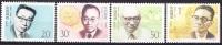 China 1992 Yvert 3139 / 42, Chinese Contempory Scientists (III), MNH - Nuovi