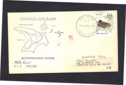 Météorological Station .   RAOUL  Island 1987/1988 - Unclassified