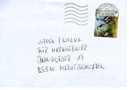 Brief Von Briefzenturm 96 Mit 70 Cent Jean Baptiste Oudry 2018 - BRD