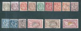 Colonie  Timbre D'Alexandrie De 1902/03   N°19 A 31 +25a Et 27a  Oblitéré - Gebraucht