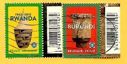 3163 - 2012  BELGIQUE  -- N°  4240 / 41   Oblitérés - Collections