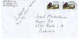 Auslands - Brief Von Briefzentrum 70 Mit  2 X 45 Cent Heinz Sielmann 2018 - BRD