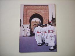 RABAT (Maroc) : Relève De La Garde Royale - (Réf. 19.306) - Rabat