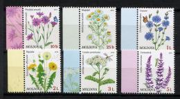MOLDAVIE 2016, FLEURS DES CHAMPS, 6 Valeurs, Neufs / Mint. RmolFDCind - Moldawien (Moldau)