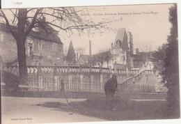 CPA - BLOIS - Pavillon D'anne De Bretagne Et Square Victor Hugo - Blois