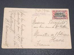 RUANDA -URUNDI - Affranchissement Sur Carte Postale Pour La France En 1917 , Affranchissement Surchargé - L 17116 - Ruanda-Urundi