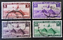 ROYAUME - POSTE AERIENNE 1941/45 - OBLITERES - YT PA 25/28 - Egypt