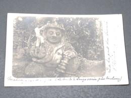 MALAYSIE - Carte Postale Photo - Statue Du Temple De Malang En 1906 - L 17118 - Malaysia