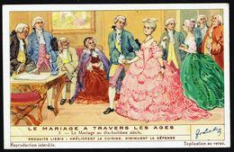 LIEBIG - FR -  1 Chromo N° 5 - Série/Reeks S 1384 - Le Mariage à Travers Les âges: Mariage Au 18 E Siècle. - Liebig