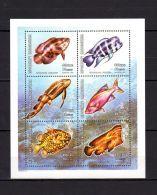 Madagascar 2001 Marine Life Fish MNH Mi.2532-37 - Maritiem Leven