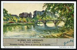 LIEBIG - FR -  1 Chromo N° 3 - Série/Reeks S 1398 - Rivières Des Ardennes: La Semois à BOUILLON. - Liebig