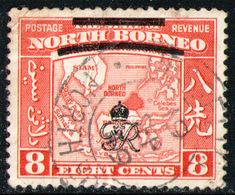 NORTH BORNEO 1947  - From Set Used - North Borneo (...-1963)