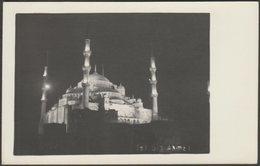 Sultan Ahmet Camii, İstanbul, C.1930 - Tensi Foto Kartpostal - Turkey