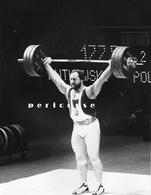 Haltérophilie Championnats Du Monde Lille 1981    Rutkowski  Pologne  (photo) - Haltérophilie