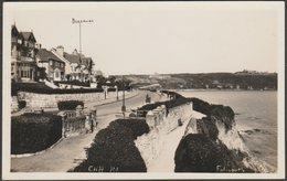 Cliff Road, Falmouth, Cornwall, C.1930s - K Ltd RP Postcard - Falmouth