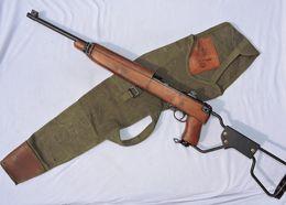 RARE ETUI TRANSPORT CARABINE U.S. M.1 A.1 - ARMEE FRANCAISE - Daté 1-59 - Decorative Weapons
