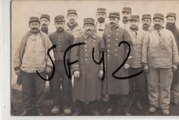 NANDAX    LOIRE      CARTE PHOTO MILITAIRES - Guerre 1914-18