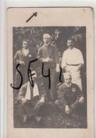 QUERQUEVILLE     MANCHE          CARTE PHOTO MILITAIRES   . HOOPITAL MILITAIRE - Guerre 1914-18