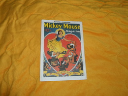 BUVARD ANCIEN DATE ?. / MICKEY MOUSE MAGAZINE. ST VALENTINES DAY. - Blotters