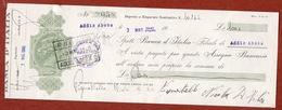 CAMBIALE  BANCA D'ITALIA COLONIE ITALIANE ADDIS ABEBA  1940   DI 1000  L.   CON FIRMA AUTOGRAFA - Cambiali