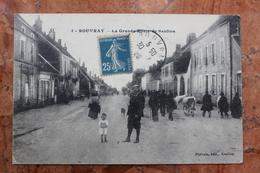 ROUVRAY (21) - LA GRANDE ROUTE DE SAULIEU - Autres Communes