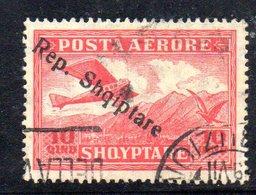 148 - 490 - ALBANIA 1927 , Posta Aerea  Yvert N. 9  Usato - Albania