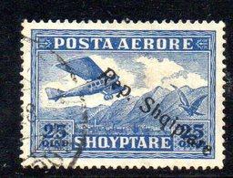 149 - 490 - ALBANIA 1927 , Posta Aerea  Yvert N. 10  Usato - Albania