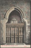 The Shoulder Arch, Dunster Church, Somerset, C.1905-10 - Stengel Postcard - England