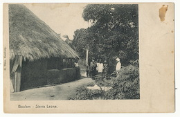 Boulam Sierra Leone  Edit H. Thies Hamburg  Femmes Nues - Sierra Leone