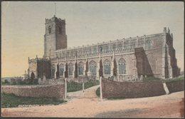 Blythburgh Church, Suffolk, C.1910s - Studio Series Postcard - England
