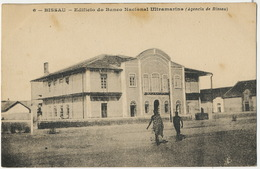 Guinée Portugaise   6 Bissau Edificio Do Banco Nacional Ultramarina Bank Banque - Guinea-Bissau