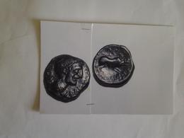 Bronze Longostaletes Tête A Dr Légende KAIANTOLO Rv / Sanglier à Dr Légende Grec Rare 3 Connue En Une Dizaine D'exemplai - Gauloises