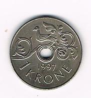NOORWEGEN  1 KRONE 1997 - Norvège