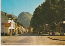 CP - PHOTO - LES CABANNES - LA PLACE ET LE PIC ST PIERRE - LC 108 - APA POUX - PARKING - VOITURES - SHELL - - Sonstige Gemeinden