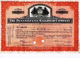 The Pennsylvania Railroad Company - Chemin De Fer & Tramway