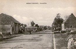 (66) CPA  Brissay Choigny  Grande Rue  (Bon Etat) - Autres Communes