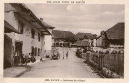 (66) CPA  Naves  Interieur Du Village  (Bon Etat) - Autres Communes