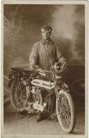 2 Cartes Photos De Motos - Motorbikes