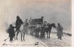 Salon De 1908 - Convoi D'Ambulance égaré Par Le Brouillard 1870 Par Sicard - Militaire Militaria - Militaria