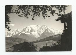 74 Combloux Le Mont Blanc Carte Photo De René Bourdeau - Combloux
