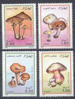 Année 1989-N°966/969 Neufs**MNH : Les Champignons - Algeria (1962-...)
