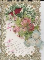 Canivet 1er Avril - Découpis,fleurs,poisson Ruban - Flowers