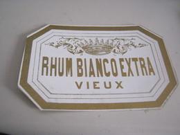 ETICHETTA RHUM BIANCO EXTRA - Rhum