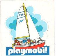Sticker Autocollant Playmobil    Reclame  Publiciteit Publicité - Autocollants