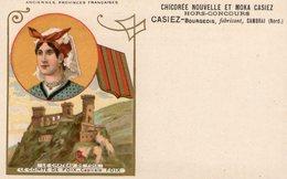 (66) CPA PUB Foix  Le Chateau  Chicorée Et Moka Casiez   (Bon Etat  ) - Foix