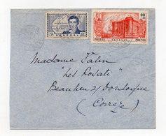 !!! PRIX FIXE : SENEGAL, LETTRE DE DAKAR POUR LA FRANCE BEL AFFRANCH BASTILLE - Sénégal (1887-1944)