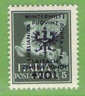 MiNr.44 X  Deutsches Reich Laibach - Occupation 1938-45