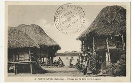 Porto Novo Village  Bord  De La Lagune  Cachet Censure Controle Postal 1940 Gaya Franchise Militaire Vers Saacy Marne - Niger