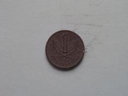 Böhmen Und Mähren 1941 - Koruna / KM 4 ( Uncleaned Coin / For Grade, Please See Photo ) !! - Repubblica Ceca