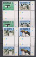 South Georgia 1993 Macaroni Penguins 4v Gutter  ** Mnh (38789) - Zuid-Georgia